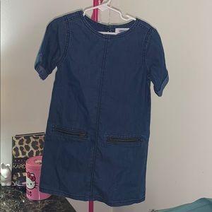 Old Navy Jean Little Girl Dress